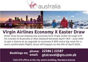 solomon islands australia travel competitions